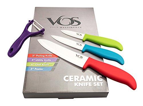 review of vos ceramic kitchen knives set 7 pcs chef ceramic knife set reliance reviews. Black Bedroom Furniture Sets. Home Design Ideas